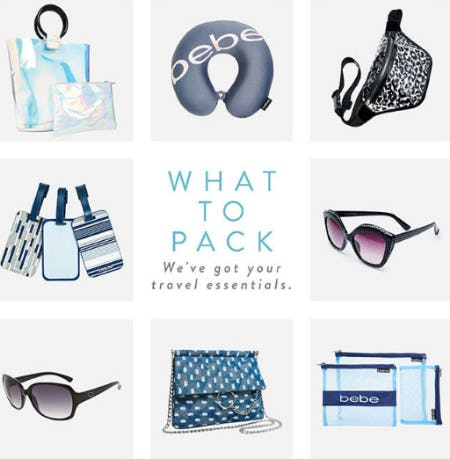 Travel Essentials from Ashley Stewart