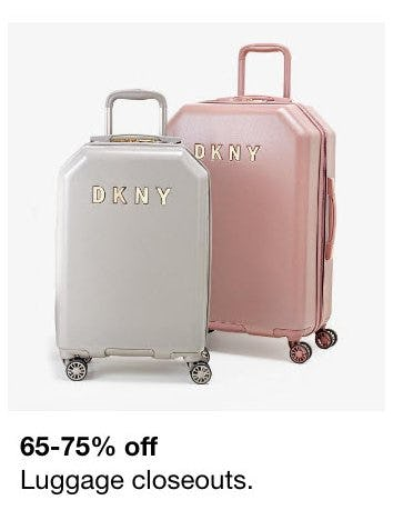 65-75% Off Luggage Closeouts from macy's