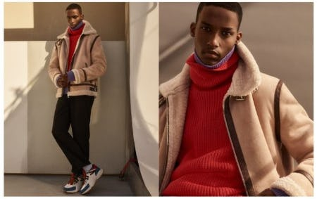 Man Statement: Shearling