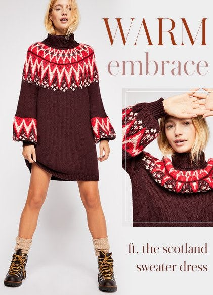 This Just In: The Scotland Sweater Dress from Free People