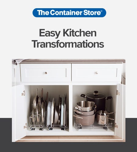 Easy Kitchen Solutions from The Container Store