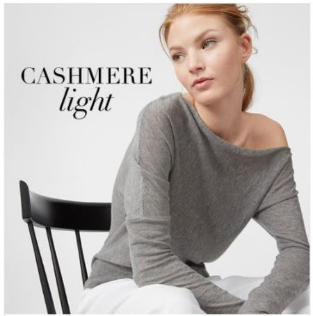 A Spring Kind of Cashmere from Club Monaco