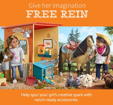 Ranch-Ready Accessories from American Girl