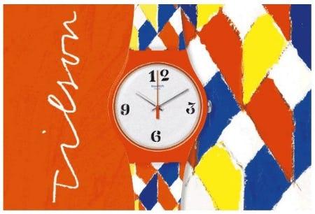 The Joe Tilson Venetian Watch from Swatch