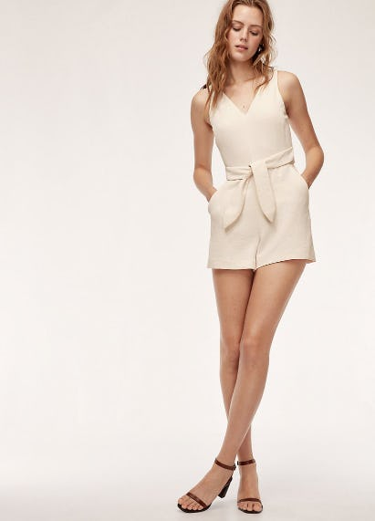 Wilfred Ecoulement Romper from Aritzia