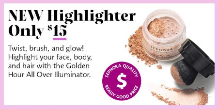 New Highlighter Only $15 from Sephora