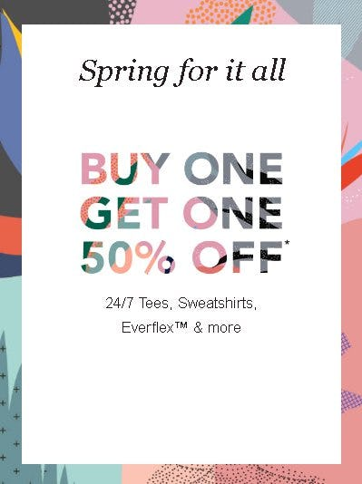 Buy One, Get One 50% Off from maurices