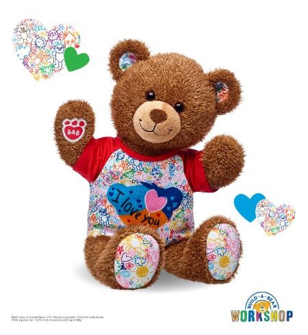 BEARlieve in the Power of Hugs! from Build-A-Bear Workshop