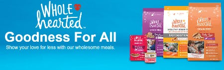 Wholesome Meals from Petco Supplies & Fish