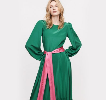 Trending: Puff Sleeves from Diane von Furstenberg