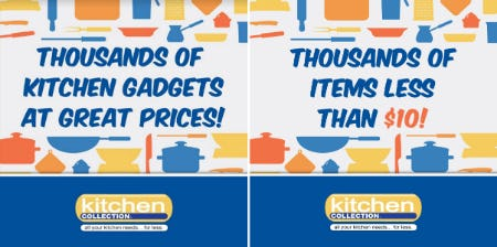 1000's of Items Less Than $10! from Kitchen Collection