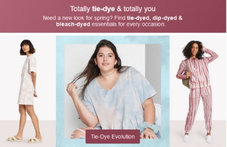 Totally Tie-Dye & Totally You from Target