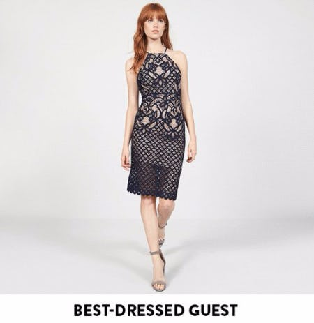 Chic Wedding-Guest Dresses