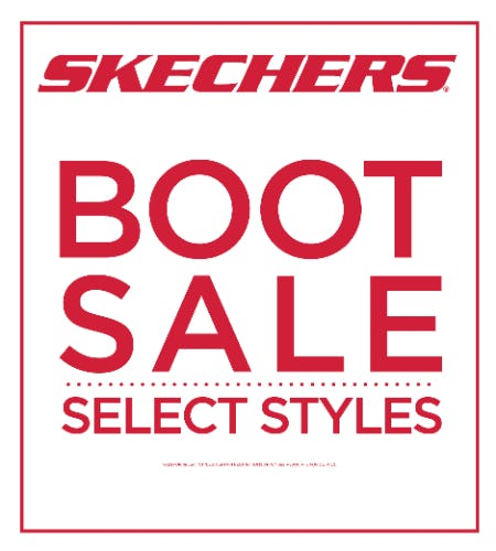 SHOP SKECHERS BOOT SALE!