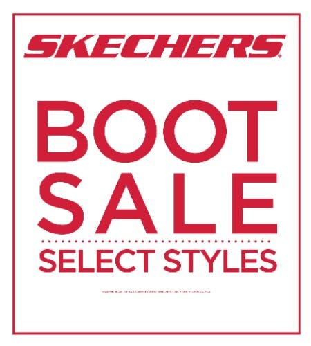 SHOP SKECHERS BOOT SALE!