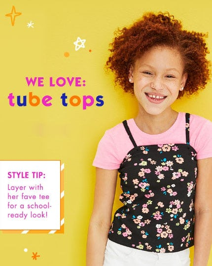 We Love: Tube Tops from Justice