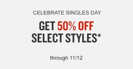 50% Off Select Styles from Finish Line