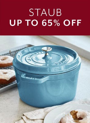 Up to 65% Off Staub from Sur La Table