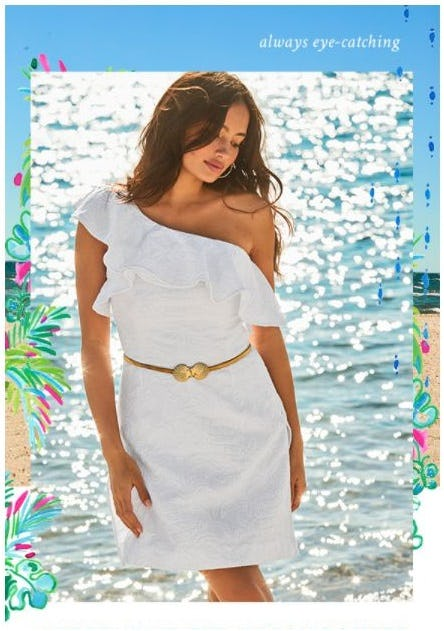 New & Noteworthy: The White Dress Collection from Lilly Pulitzer
