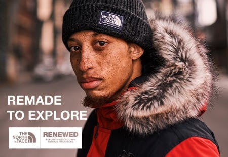 Remade to Explore from The North Face
