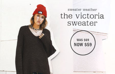 $59 The Victoria Sweater from Urban Outfitters