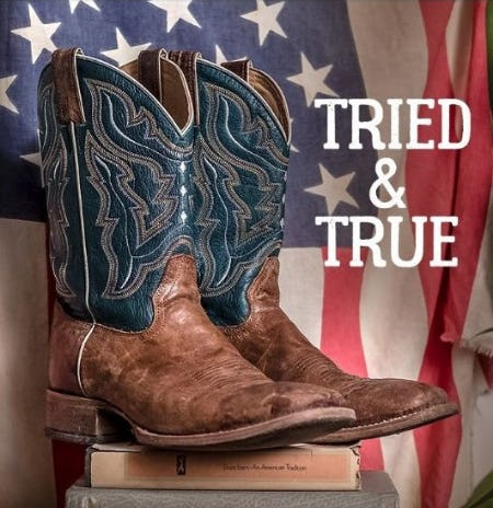Show Your American Pride: Tried & True Boots from Boot Barn Western And Work Wear