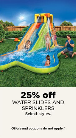 25% Off Water Slides & Sprinklers from Kohl's