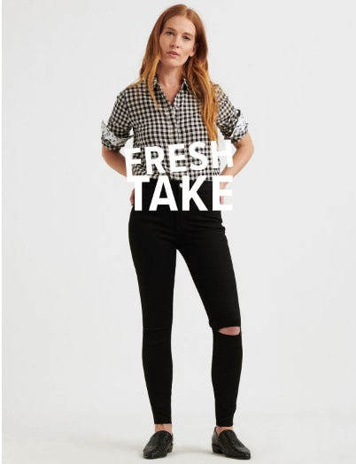 Fresh Take from Lucky Brand Jeans