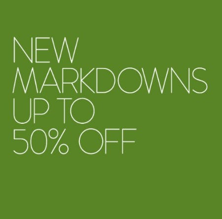New Markdowns up to 50% Off from Nordstrom