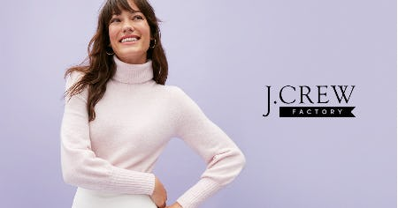 40% - 60% OFF STOREWIDE! from J.Crew Factory