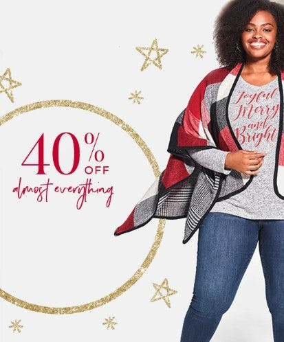 40% Off Almost Everything from Lane Bryant