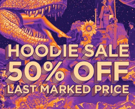 Hoodie Sale: 50% Off Last Marked Price from Zumiez