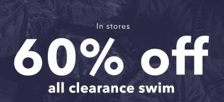 60% Off All Clearance Swim from Aerie
