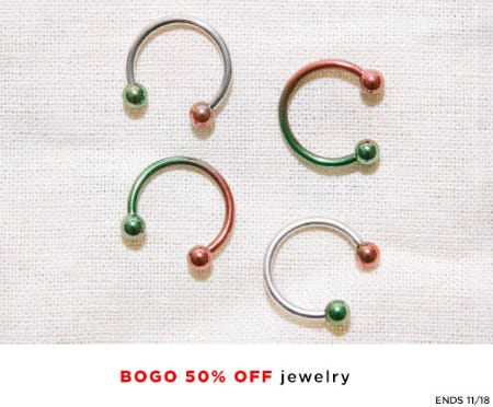 BOGO 50% Off Jewelry from Neiman Marcus