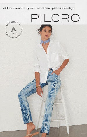 New Pilcro Denim from Anthropologie