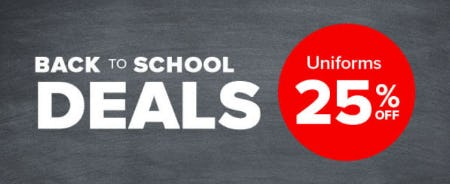 25% Off Back To School Deals from Rainbow