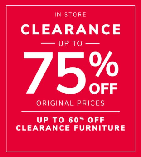Up to 75% Off Clearance from Pier 1 Imports