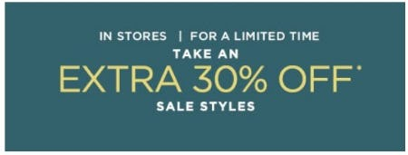 Extra 30% Off Sale Styles from A Pea In The Pod