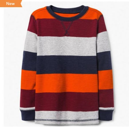 Colorblock Thermal Tee from Gymboree