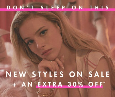New Styles on Sale + An Extra 30% Off from BCBG