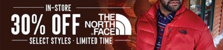 30% Off The North Face from Dxl Mens Apparel