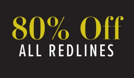 80% Off All Redlines