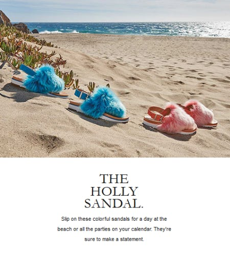 The Holly Sandal from Ugg