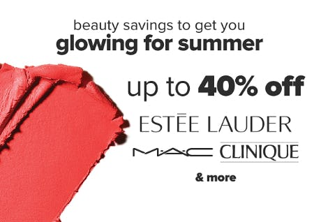 Up to 40% Off Beauty Savings from Belk