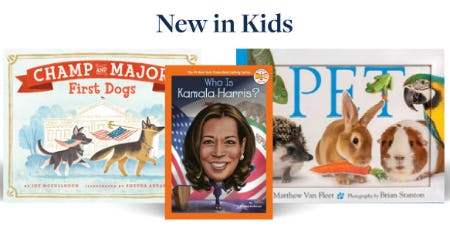 New in Kids from Books-A-Million