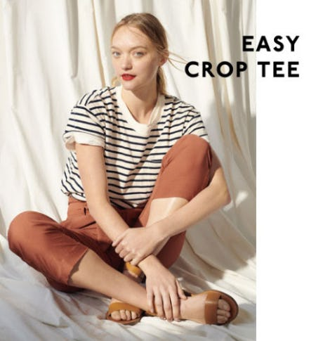 Easy Crop Tee from Madewell