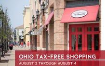 Ohio Sales Tax Holiday