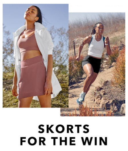 Skorts For The Win from Athleta