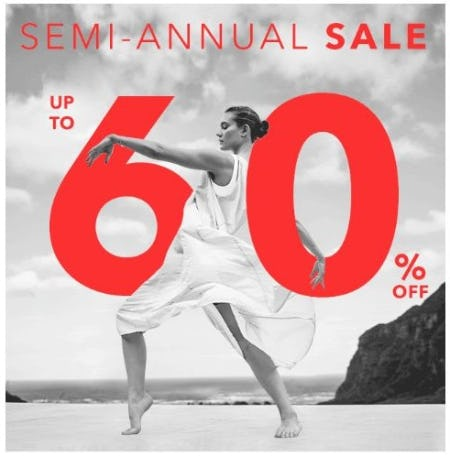 Semi-Annual Sale up to 60% Off from Athleta