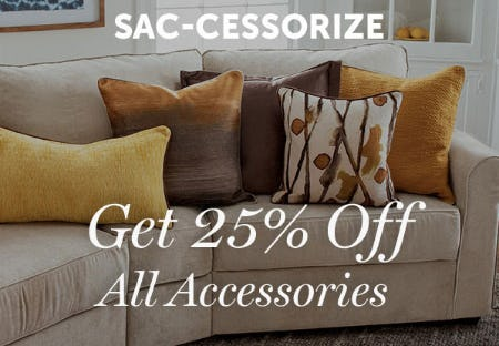 Get 25% Off All Accessories